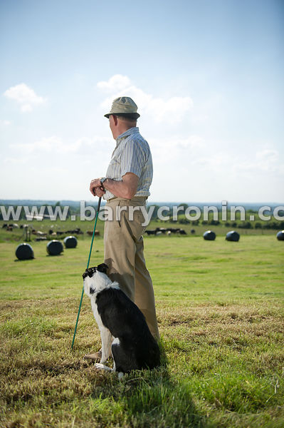 1st July, 2014.Paddy Donnelly (PRO For the Mullingar Agricultural Show) pictured on his farm in Balrath, Bunbrosna, County We...