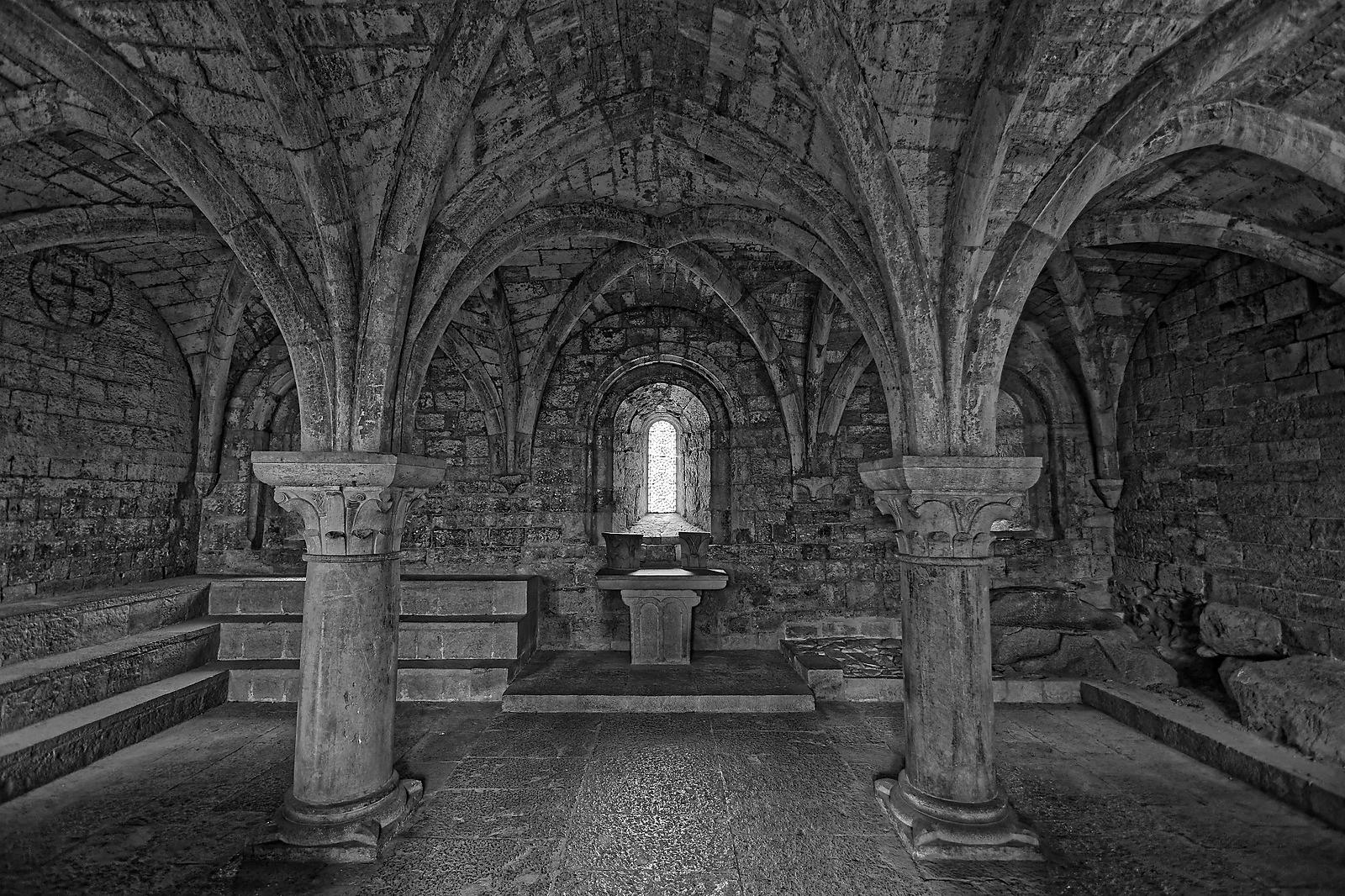 Chapter house in Thoronet abbey