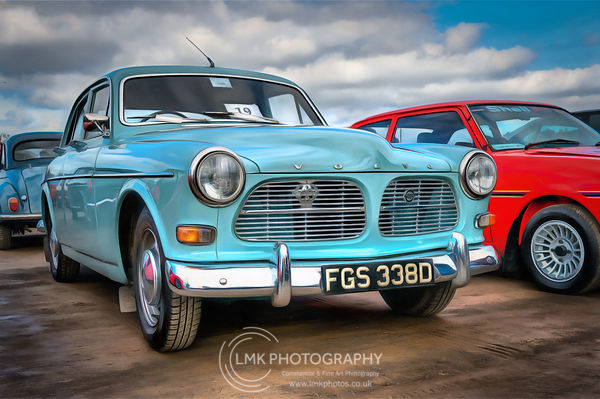 Volvo Amazon Painting