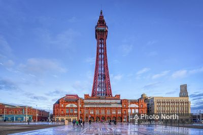 BLACKPOOL 06A - Blackpool Tower and the Comedy Carpet
