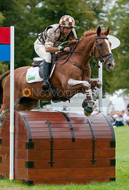 Matt Ryan and Bonza Puzzle at Burghley Horse Trials 2009 - Land Rover Burghley Horse Trials 2009