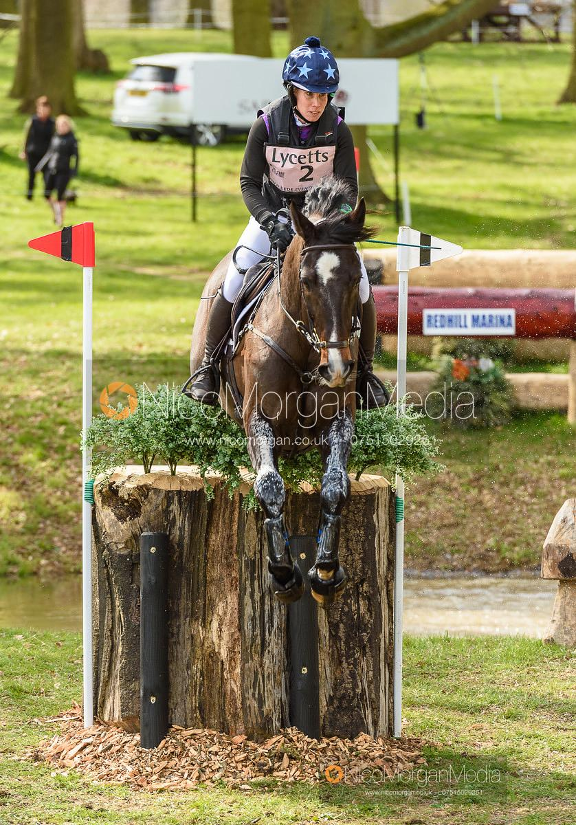 Paulina Swindells (FIN) and FERRO S, Belton Horse Trials 2019