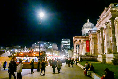 Christmas Market at Trafalgar Square