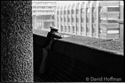 Photograph from around Brunswick Centre, London Wall and Barbican. Shot as college project in 1975. I had some thoughts about...