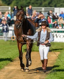 Rosalind Canter and ALLSTAR B - Final Horse Inspection  -  Land Rover Burghley Horse Trials 2016