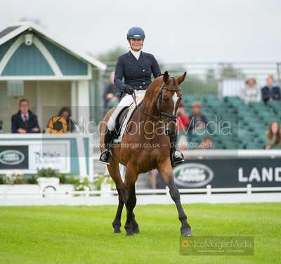 Rebecca Gibbs and DE BEERS DILLETANTE - Dressage - Land Rover Burghley Horse Trials 2019