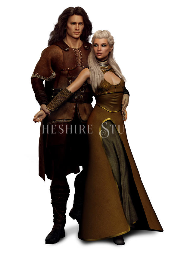 Viking or Medieval Couple