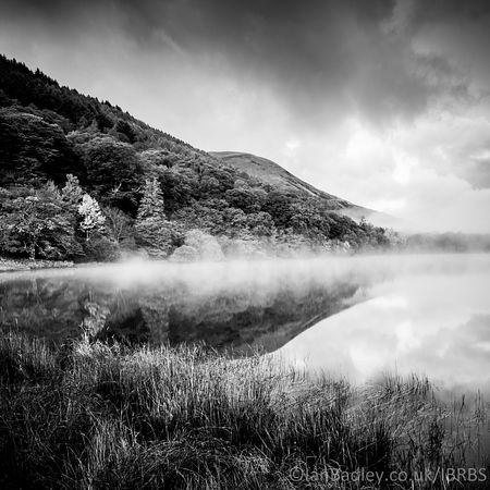 Misty dawn on Loweswater,