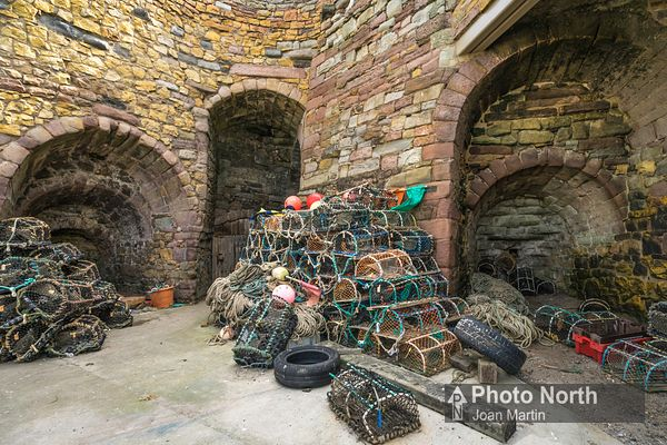 BEADNELL 02A - Beadnell Limekilns and lobster pots