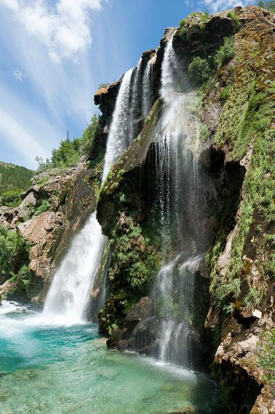 Waterfall, Knin, Croatia