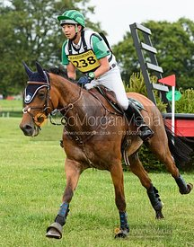 Toshiyuki Tanaka and TALMA D ALLOU - Upton House Horse Trials 2019.