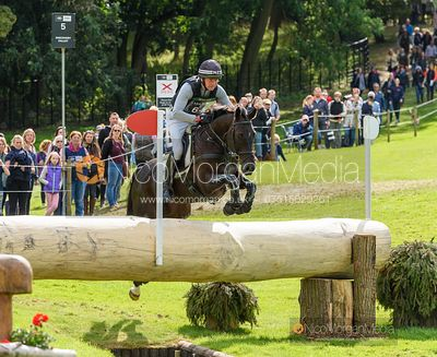 Dan Jocelyn and BLACKTHORN CRUISE - Cross Country - Land Rover Burghley Horse Trials 2019