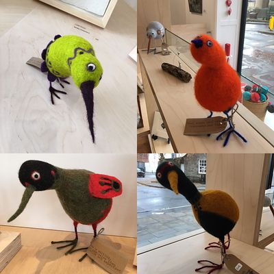 Ruth Packhams Quirky Birds