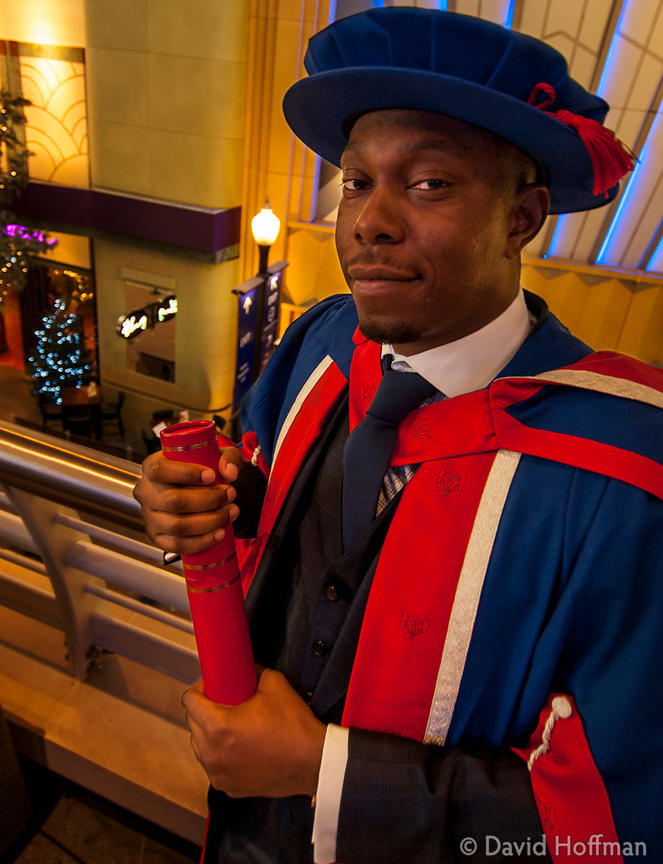 131121 UEL Hon Doc 057 Awards of Honorary Doctorates to David Hoffman and Dizzee Rascal by the University of East London at t...
