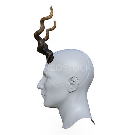 Deer_Horns_-_Profile