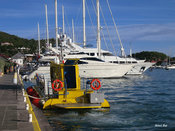 Saint-Barthélemy yellow submarine