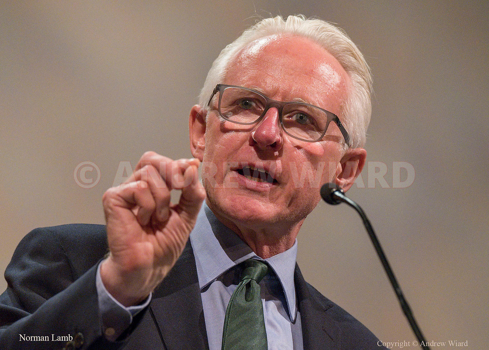 England, UK . 19.9.2017. Bournemouth . Liberal Democrats Conference. Norman Lamb.
