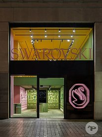 Retail architecture photographer Paris - SWAROVSKI CHAMPS ELYSEES PARIS