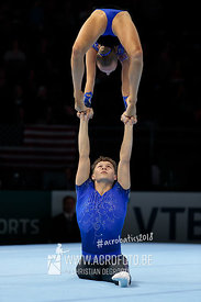 AG 13-19 Mixed Pair United Kingdom - Balance