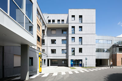 Polyclinique Saint-Laurent, Rennes // BLÉZAT Architecture
