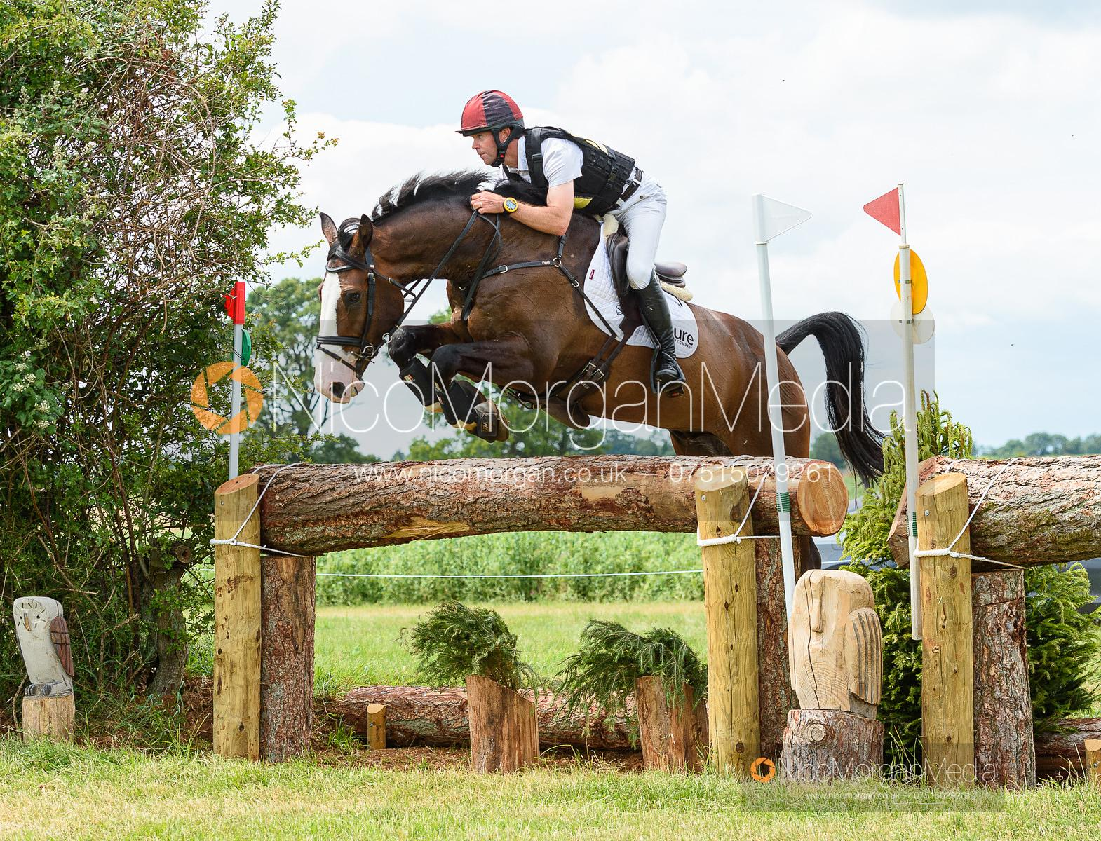 Kevin McNab and FULLON - Upton House Horse Trials 2019.