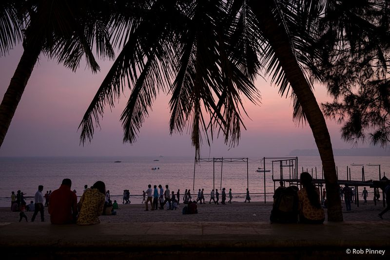 Chowpatty Beach Subset, Mumbai