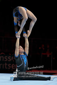AG 13-19 Mixed Pair France - Balance