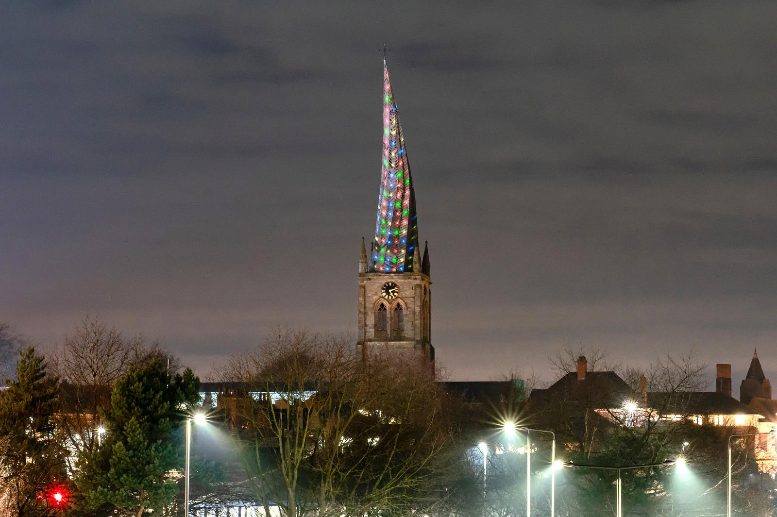 Festival of light in Chesterfield