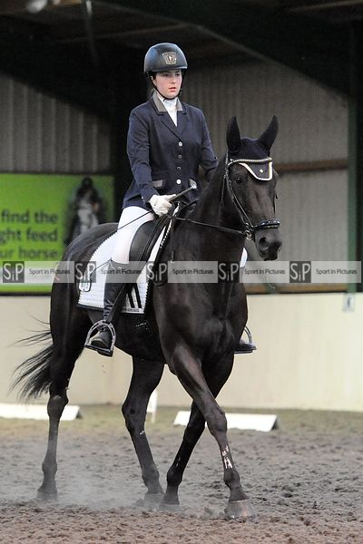 Stapleford Abbotts. United Kingdom. 24 August 2020. Monday evening dressage. MANDATORY Credit Ellen Szalai/Sport in Pictures ...