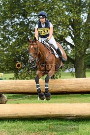 India Wishart and THE MASTERS HARRY - Upton House Horse Trials 2019.