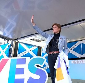 Scottish Independence 2020 Rally, Glasgow