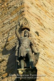 Image - William Wallace Statue, Stirling, Scotland
