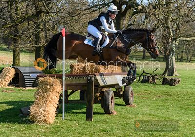 Gabriella Vaughan and CUFFLINK, Belton Horse Trials 2019