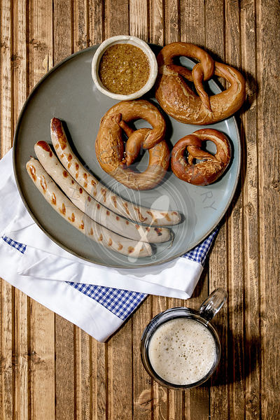 Bavarian traditional sausages