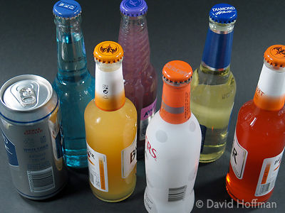 Alcohol 2 Brands of alcohol favoured by young drinkers due to the sweetness & low price.