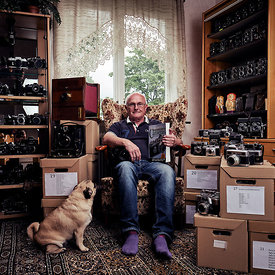 Portrait of a collector