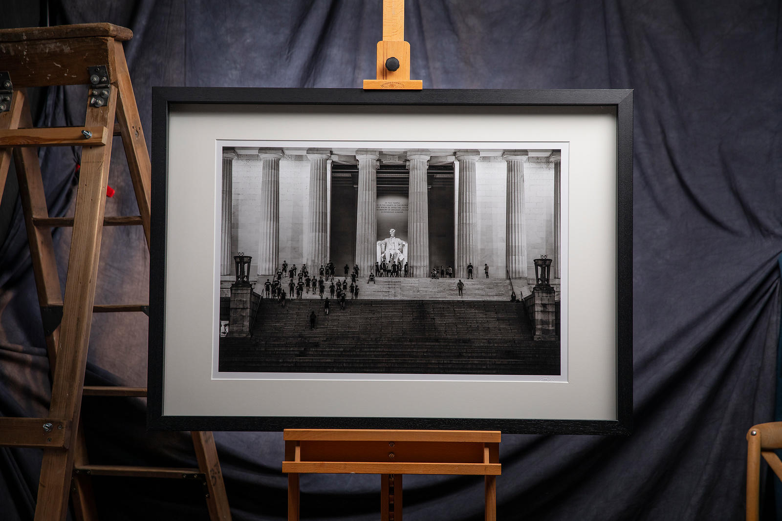 'On This Day In History'   Washington D.C. 2019 : Photographer: Neil Emmerson  £975 inc uk vat (image shown 125cm x 87cm fram...