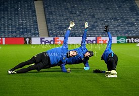 Young Boys training at Ibrox, 11th December 2019