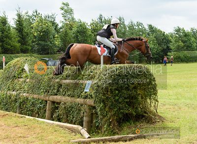 Becky Woolven and DHI BABETTE K - Aston Le Walls Horse Trials 2019.