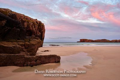 Image - Oldshoremore bay near Kinlochbervie, Sutherland, Highland, Scotland.  At sunrise