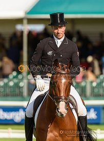 Tim Price and RINGWOOD SKY BOY - Dressage - Land Rover Burghley Horse Trials 2019