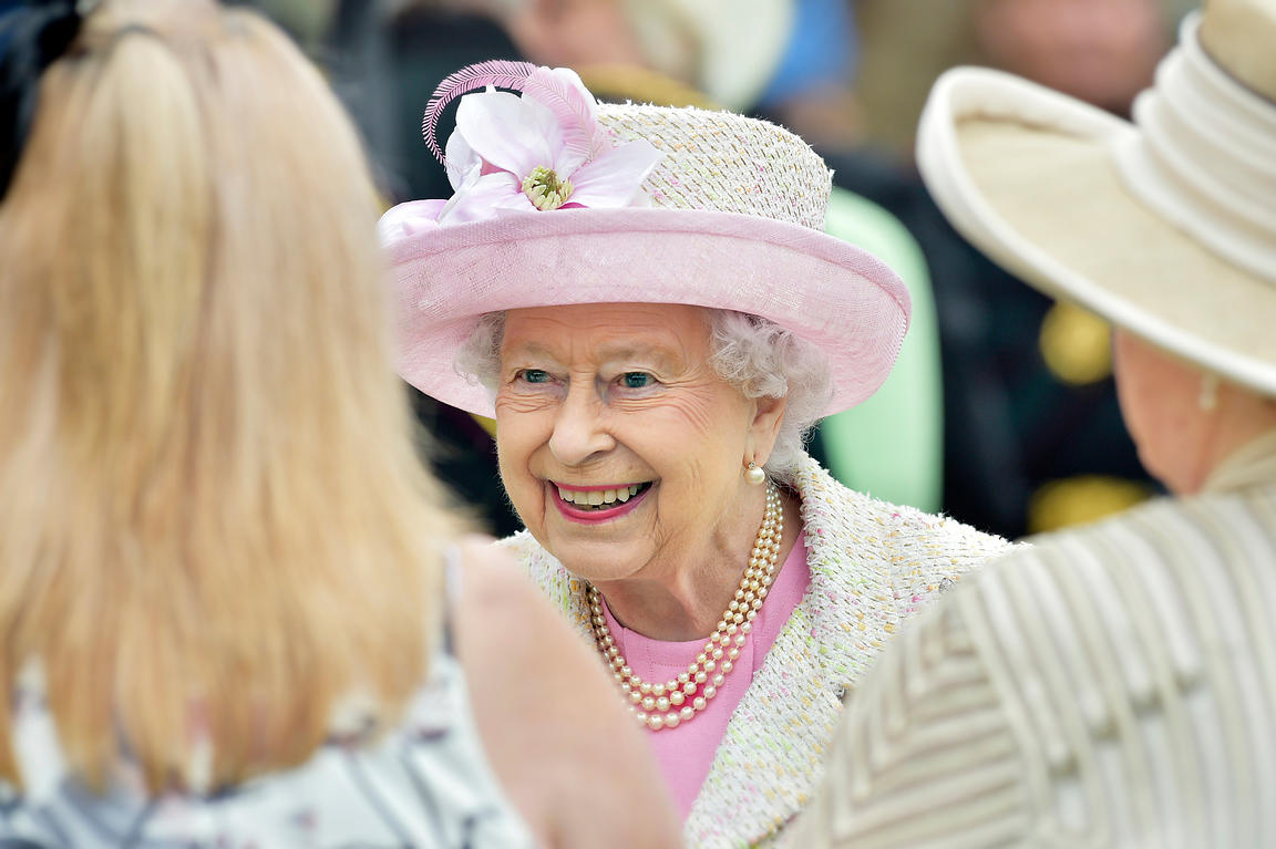 Queen Elizabeth II/the Palace of Holyroodhouse Garden Party.