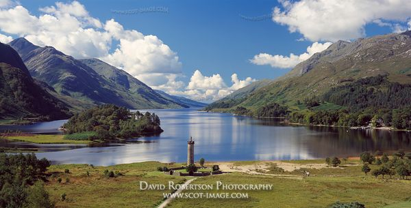 Image - Glenfinnan Monument and Loch Shiel, Panoramic