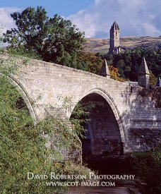 Image - Stirling Bridge, Auld Brig, Wallace Monument