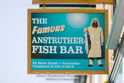 Image - Anstruther Fish Bar, East Neuk of Fife, Scotland.