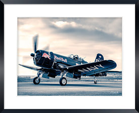 Red Bull (The Flying Bulls) Vought F4U-4 Corsair with Eric Gougon