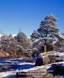 Image - Falls of Dochart, Killin, Winter, snow
