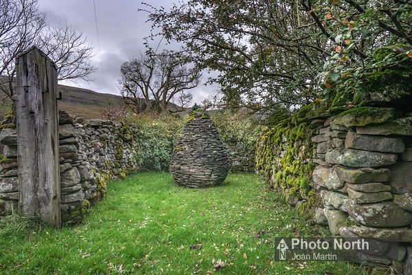 OUTHGILL 04A - Pinfold Cairn by Andrew Goldsworthy