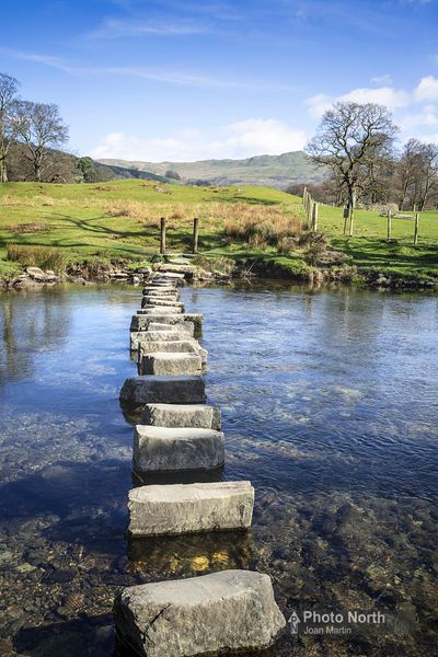 RYDAL 28A - River Rothay Stepping Stones