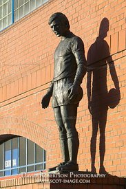 Image - Statue of John Greig outside Ibrox, Glasgow.